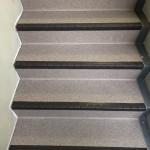 マンション階段防滑シート張り・防水