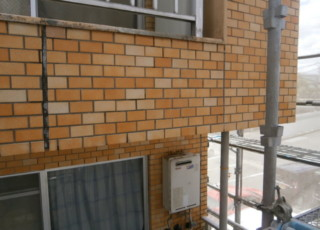 店舗様 外壁タイル等補修工事